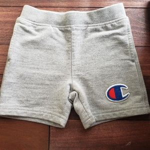 Infant champion sweat shorts